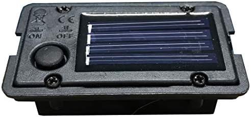 Selections - Caja de luz LED solar de repuesto para jardín: Amazon ...