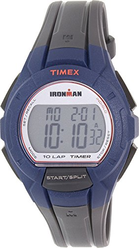 Timex Men's 'Ironman' Quartz Resin Watch, Color:Grey (Model: TW5K94100)