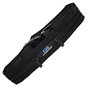 FinBurst Running Belt - Adjustable Waist Pack for All Cell Phones