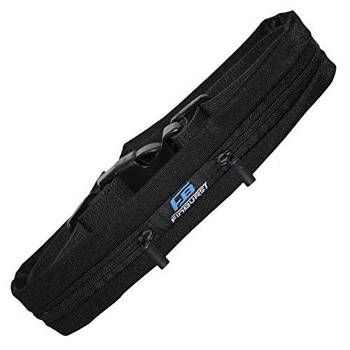 FinBurst Running Belt - Adjustable Waist Pack for All Cell (Trail Runner Mini)