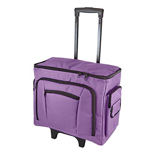 Birch 006105/P Purple Sewing Machine Trolley Bag 47 x 38 x 24cm by Birch