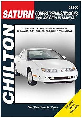 [DVZP_7254]   Amazon.com: Chilton Saturn Coupes/Sedans/Wagons 1991-2002 Repair Manual  (62300): Automotive | 1991 Saturn Sl2 Engine Diagram |  | Amazon.com
