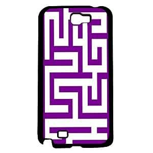 Purple Maze Hard Snap on Phone Case (Note 2 II)