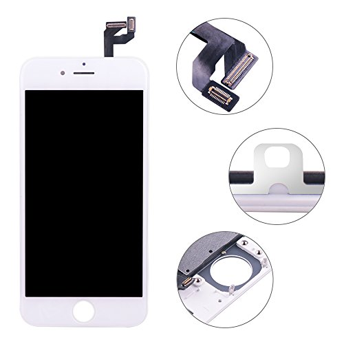Screen Replacement Compatible iPhone 6S White(4.7inch)Digitizer Repair LCD replacement Kit assembly by Milemont (Image #3)