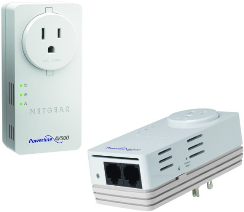 NETGEAR Powerline 500Mbps 2-Port Adapter -  Starter Kit (XAVB5602) by NETGEAR (Image #1)