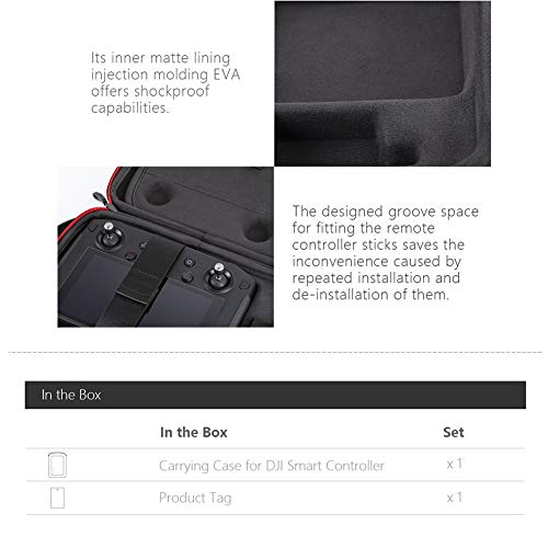 PGYTECH Carrying Case Compatible with DJI Smart Controller by PGYTECH (Image #4)