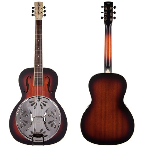 Gretsch G9220 Bobtail Round-Neck Acoustic-Electric Resonator Guitar - 2 Color Sunburst