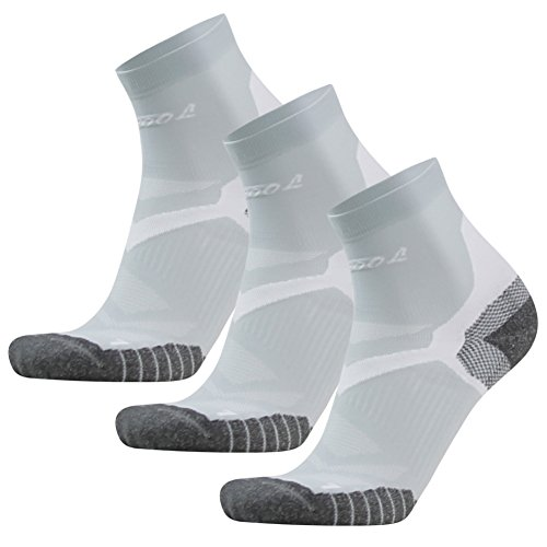 Facool Mens Arch Support Ankle//Quarter Athletic Running Walking Cushion Sports Socks 3//6 Pairs