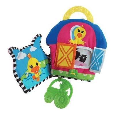 John Deere Baby John Deere Soft Teething Book : Baby Teether Toys : Baby