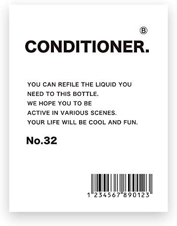 03. 샴푸 (린스) / 03.Shampoo Label (Conditioner)