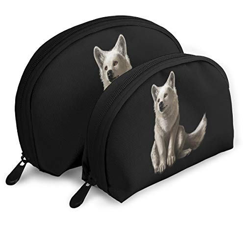 Portable Shell Makeup Storage Bags Cute Wolf Baby