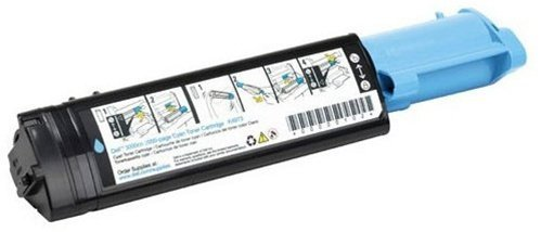 3571 Cyan Toner - AZ Compatible with Dell 3010 (341-3571) Cyan Toner Cartridge for Dell 3010, 3010CN