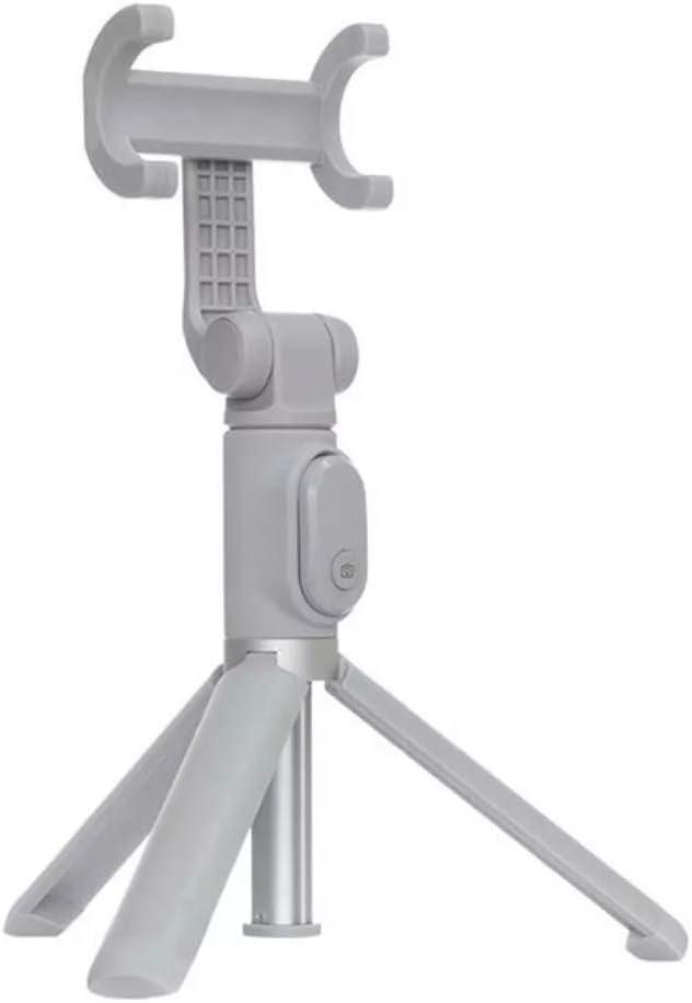 Xiaomi Mi Selfie Stick Tripod Palo para autofotos Smartphone Gris - Palos para autofotos (Smartphone, Gris, Aluminio, 360°, 155 g)