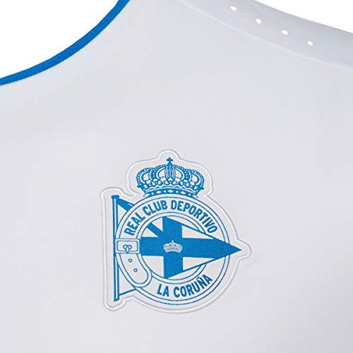 Macron Camiseta Deportivo DE LA CORUÑA Infantil Letras ...