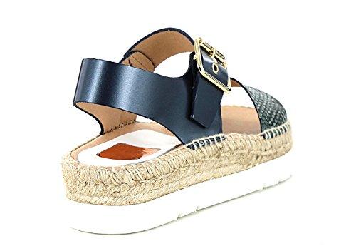 Blu KANNA donna Blu sandali KV5043 wIqFZIr