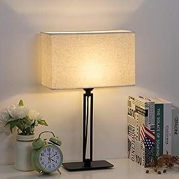 Haitral Modern Table Lamp Bedside Desk Lamp Unique