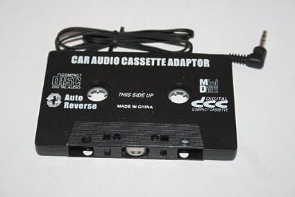 World of Data - Adaptador de audio cassette para coche: Amazon.es: Electrónica