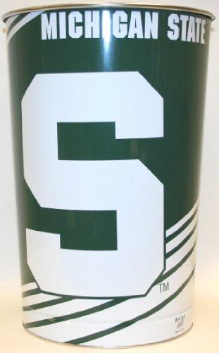 Michigan State Spartans - MSU - Official NCAA Licensed Wincraft Wastebasket / Trash Can (Michigan Basket)