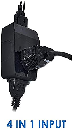 Ceptics 3 Outlet Travel Adapter Plug Type G for UK Hong Kong