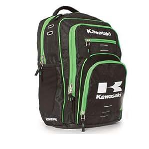 Amazon.com: Kawasaki Flight Backpack Black & Green: Automotive