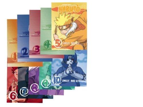 Naruto Uncut Complete Box Set (Vol 1-10 Box Sets) - AMAZON - Complete Series Naruto