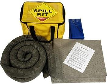 Kit de derrames de 34 litros para uso general en una bolsa de transporte