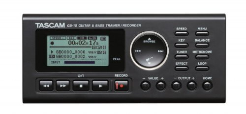 Tascam Bass Trainer - Tascam GB-10 Guitar Bass Trainer Recorder
