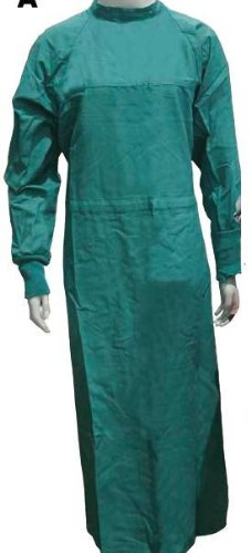 Cloth Reusable Surgeon Gown Large