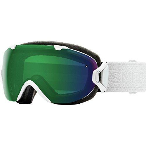 Days Mosaic - Smith Optics Womens I/OS Snowmobile Goggles White Mosaic / ChromaPop Everyday Green Mirror