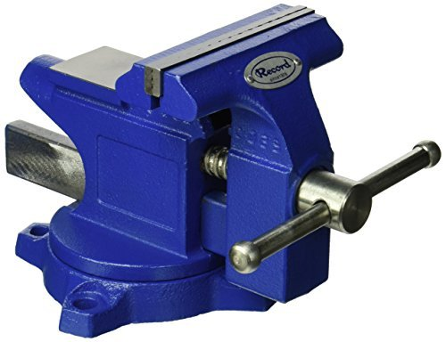 IRWIN Tools Record Light Duty Workshop Vise, 4.5-Inch (4935507) by Irwin Tools