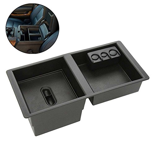 Big Ant Center Console Insert Organizer Tray for Chevy Silverado 2014-2017,Tahoe,Suburban - GMC Sierra,Yukon-GM Vehicles Armrest Box Glove Box Secondary Storage Organizer (Suburban Console)