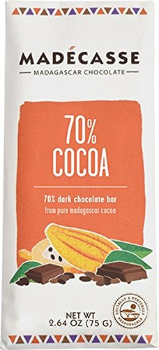Madecasse Discs,Drk Choc,70% Cocoa 10 Oz (Pack Of 10) by Madecasse