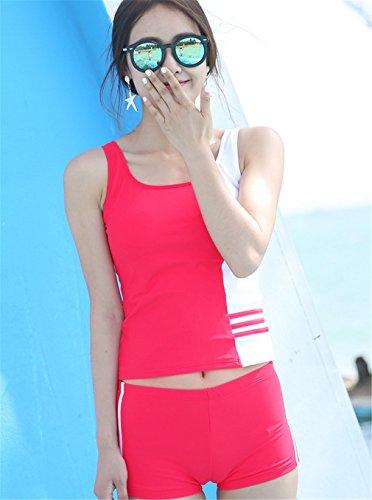 A Piccolo Costume CLODY Per Pozzetto Da Pink Pieghe L A Donna Bagno wq1wfXt