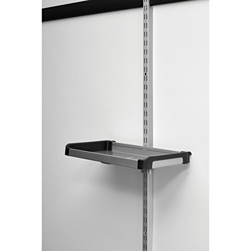 Rubbermaid fasttrack rail small shelf 1938439 calipers for Rubbermaid fasttrack