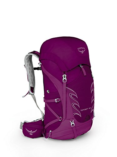 Osprey Packs Tempest 40 Women's Hiking Backpack, Mystic Magenta, Wxs/S, X-Small/Small