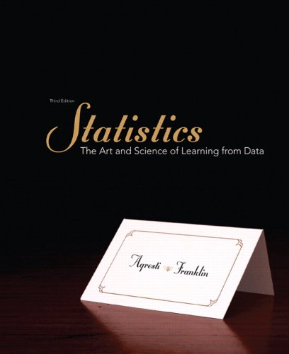 Statistics The Art and Science of Learning from Data 3rd Edition