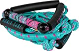 Ronix Women's Bungee Surf Rope - 10'' Handle - 25ft 4 - Sect. Rope - Pink (2019)