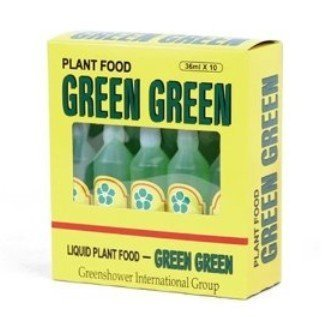 Green Green Plant Food (36ml Bottles, Pack of 10) (Foods Green)