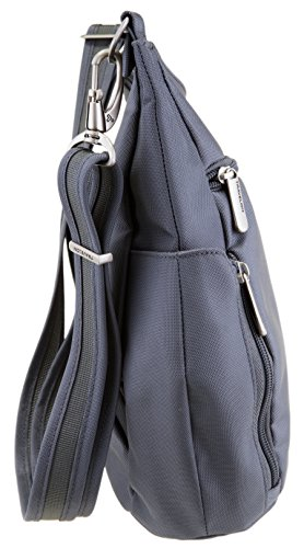 Travelon Anti-Theft Cross-Body Bucket Bag (Pewter) by Travelon (Image #2)