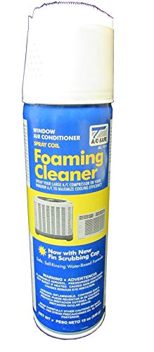 Clean Foam Cleaner - A/C SAFE AC-921 Air Conditioner Coil Foam Cleaner, Cleans Evaporator and Condenser Coils and Fan Blades