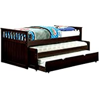 Bartletts Wood Twin Nesting Daybed w/ Trundle - Espresso