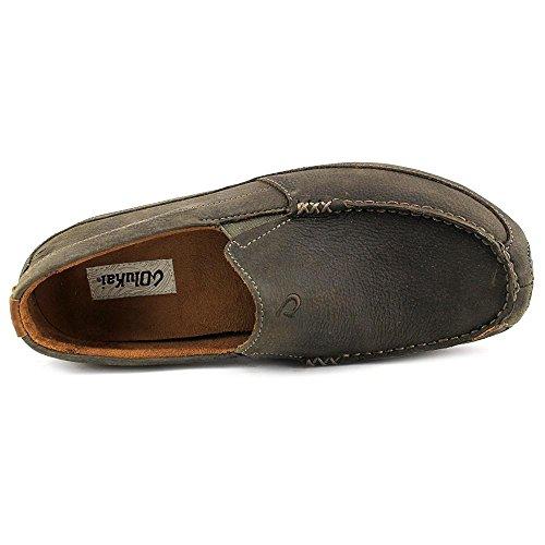 OluKai Akepa Moc Shoe - Mens Seal Brown/Seal Brown URCSrX57J