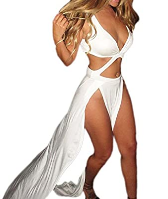 Happy Sailed Women's Novelty Jersey Night Club Craving Maxi Long Dance Dress