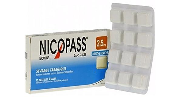 Amazon com: Nicopass 2 5MG Nicotine Smoking Cessation