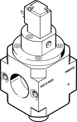 Festo 172964 Valve, Model HEE-D-MAXI-230