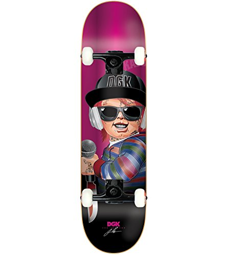 DGK Skateboard Complete Johnson G Killers Foil 8.25