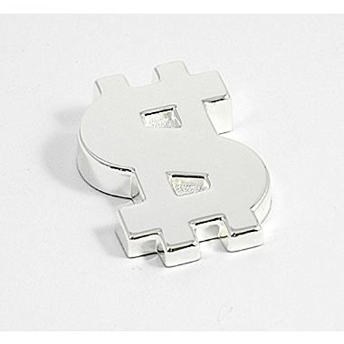 Bey Berk Dollar Paperweight Silver Plated