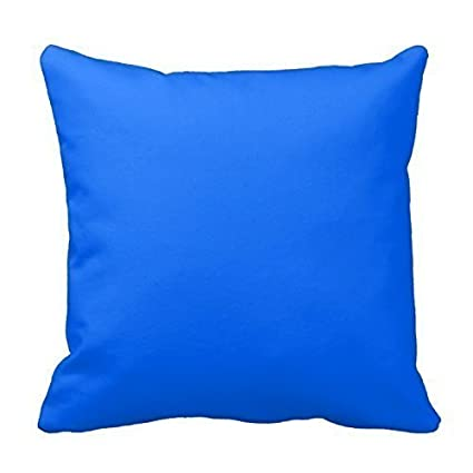 Solid Color Pillowcase Cotton Back Cushion Decorative Pillow Cover Home Office