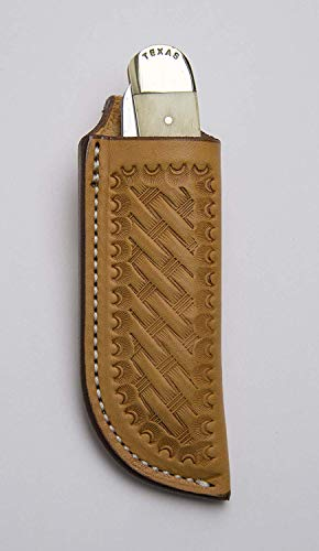 TOP HAND GEAR Leather Knife Sheath, Belt Sheath, Sheath for Knife, Belt Loop, Trapper Sheath,