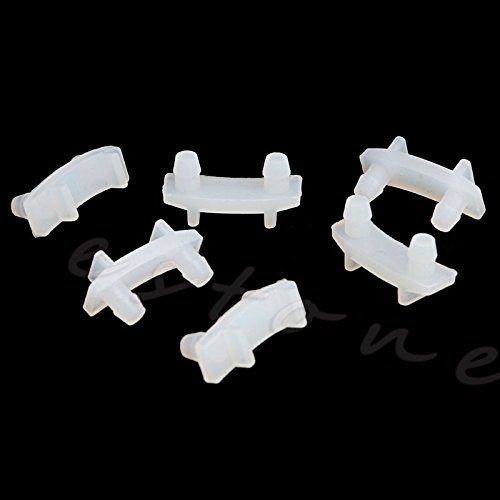 White Amrka 6Pcs Juicer Anti Shock Pad Rubber Bush Replacement Spare Part for Nutribullet 600W 900W Juicer
